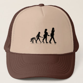 Human Evolution_7 Trucker Hat