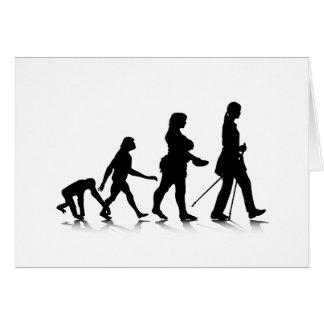 Human Evolution_8 Greeting Card