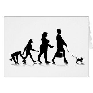 Human Evolution_9 Greeting Card