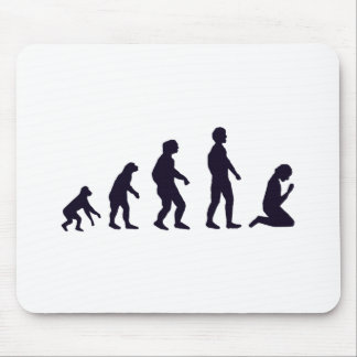 HUMAN EVOLUTION, figures, gifts Mouse Mat