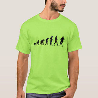Human Evolution: Soccer Player T-Shirt