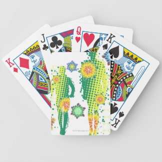 Human Figure Bicycle Playing Cards