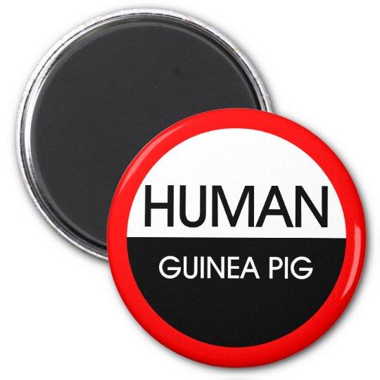 Human Guinea Pig 6 Cm Round Magnet