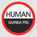 Human Guinea Pig Stickers