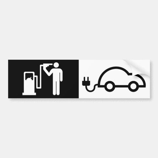 Human Icon Harikari Gas Pump Electric Green Car