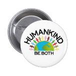 Human Kind 6 Cm Round Badge