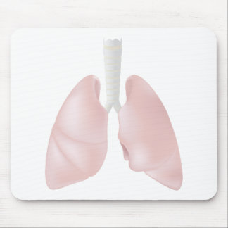Human lungs Mousepad