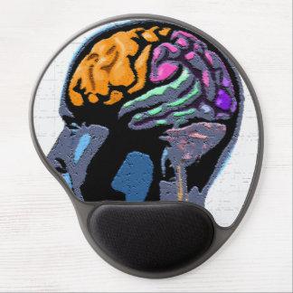 Human Mind Street Art Gel Mouse Mat