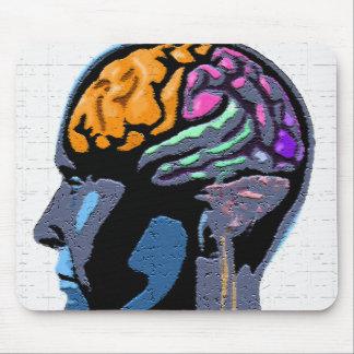 Human Mind Street Art Mouse Pad
