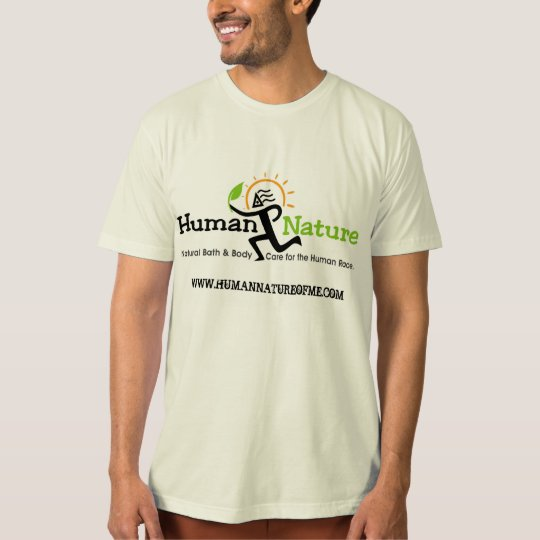 Human Nature drum t-shirt