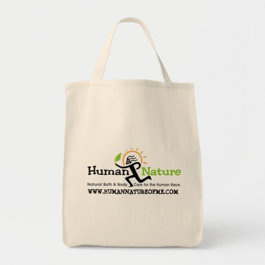 Human Nature Reusable Tote with Logo