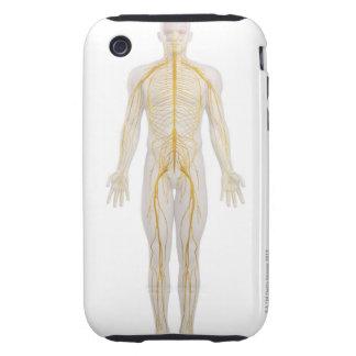 Human Nervous System 2 Tough iPhone 3 Case