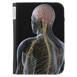 Human Nervous System Kindle Keyboard Cases