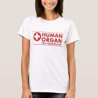 Human Organ for Transplant T-Shirt