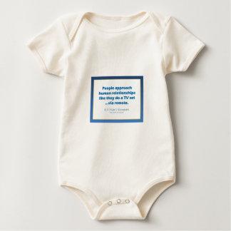 Human Relationships Baby Bodysuits