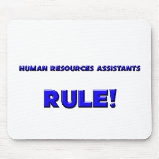 Human Resources Assistants Rule! Mouse Mat