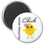 Human Resources Chick Refrigerator Magnets