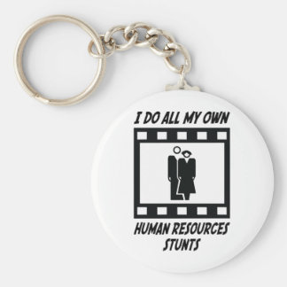Human Resources Stunts Key Ring
