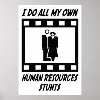 Human Resources Stunts Poster