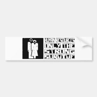 Human Resources Survive Bumper Sticker