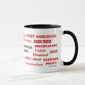 Human Resources Swear Words Annoying Funny Joke Mug