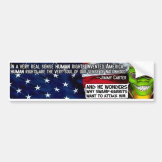 Human Rights Sticker ($4) - Customized Bumper Sticker