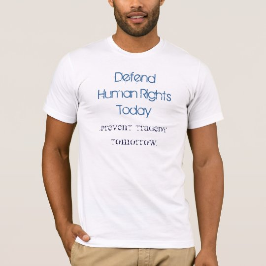 Human Rights Today T-Shirt