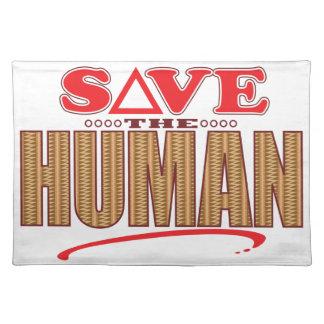 Human Save Placemat