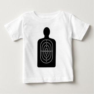 Human Shape Target Baby T-Shirt