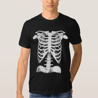 Human Skeleton Front and Back T-shirts