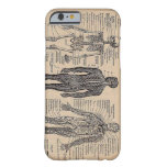 Human Skeleton Medical Diagram iPhone 6 case Barely There iPhone 6 Case