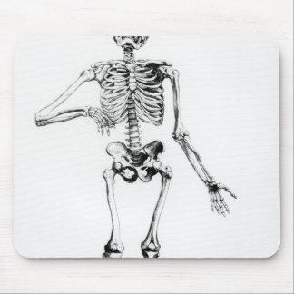 Human Skeleton Mouse Mat