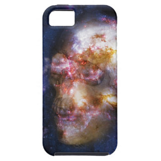 Human Skull in the Stars iPhone 5 Cases