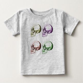 Human Skulls Baby T-Shirt