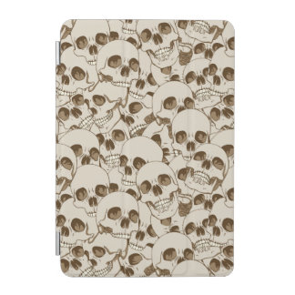 Human skulls background iPad mini cover