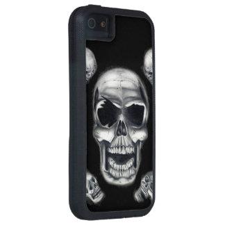 Human Skulls Black iPhone 5/5s Tough Xtreme Case