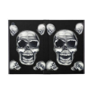 Human Skulls Black Powis iCase iPad Mini Case