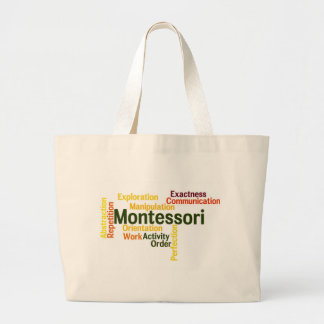 Human Tendencies Word Art Version 1 Large Tote Bag