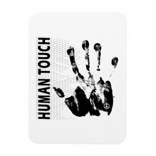 Human touch rectangular magnet