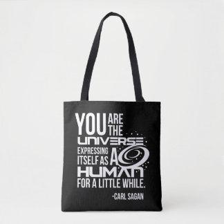 Human Universe Tote Bag