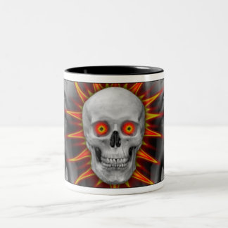 Human Unmasked Two-Tone Coffee Mug