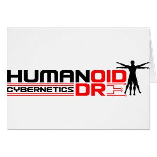 Humandroid Cybernetics Greeting Card