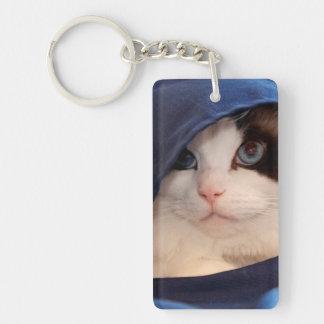 Humane Society cat 2 Key Ring