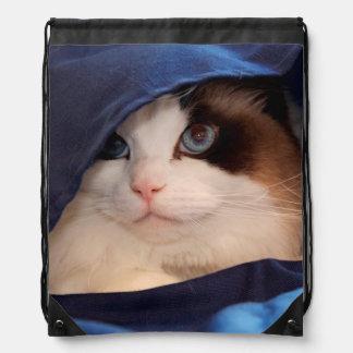 Humane Society cat 2 Cinch Bags