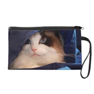 Humane Society cat 2 Wristlet Clutch