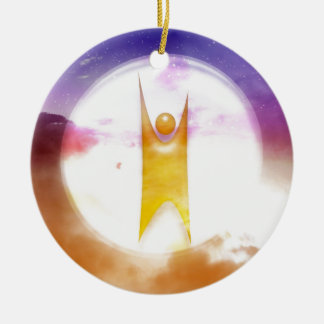 Humanism Symbol Christmas Ornament