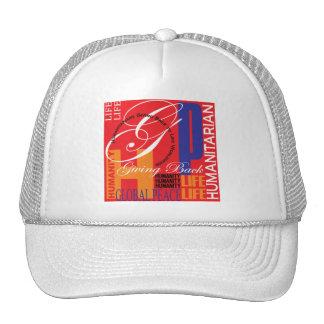 Humanitarian Graffiti Hat