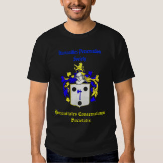 Humanities Preservation Society Shirt (Blue)