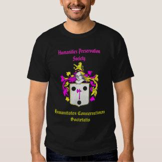 Humanities Preservation Society Shirt (Pink)