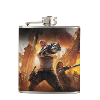 Humanity's End Flask